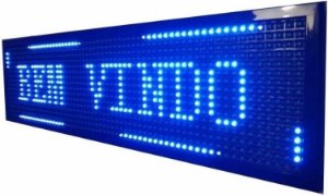 PLACA DE LED AZUL 100X20 LELONG SL1021A