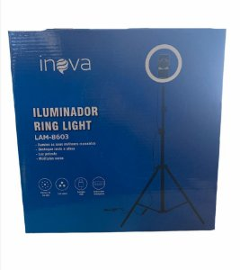 RING LIGHT 10 POLEGADAS COM TRIPE 1,5M INOVA LAM-8603