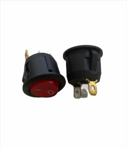 CHAVE POWER ON/OFF VERMELHO KCD1-105 6A/250V