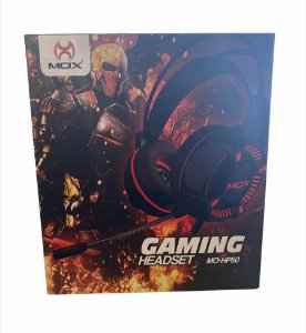 HEADSET GAMING 2.3M CABO P2 E USB MOX MO-HP50