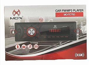 SOM AUTOMOTIVO MOX USB/FM/MP3/BT MO-TC750