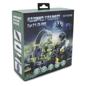 HEADSET GAMING 1.2M CABO P4/X-ONE KNUP SEZ-881 PRO
