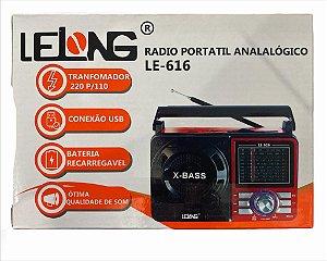 RADIO PORTATIL ANALOGICO LELONG LE-616