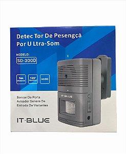 SENSOR DE PRESENÇA POR ULTRA-SOM IT BLUE SD-300D
