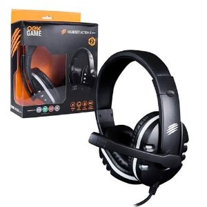 HEADSET ACTION-X MULTIPLATAFORMA PS4 XBOX ONE NS PC P3 OEX GAME HS211