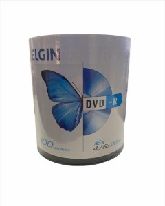 DVD-R ELGIN 4.7GB BULK C/100