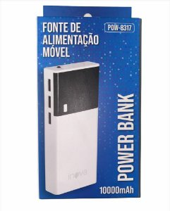 POWER BANK INOVA 10000mAh POW-8317