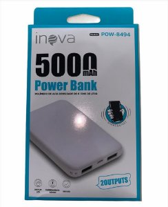 POWER BANK INOVA 5000mAh POW-8494