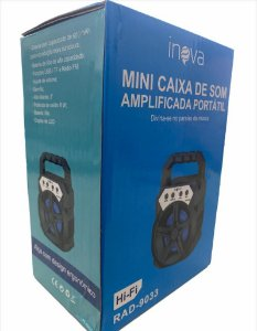 CAIXA DE SOM INOVA RAD-9033