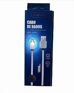 CABO DE DADOS 1M V8 2.4A INOVA CBO-5745