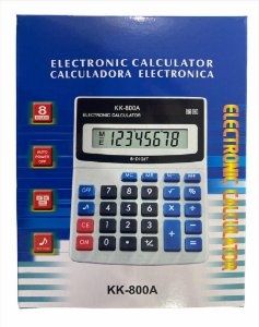 CALCULADORA ELETRONICA 8 DIGITOS KK-800A