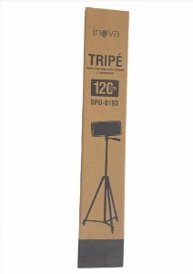 TRIPE SUPORTE TABLET CELULAR CAMERA DIGITAL CAMERA SLR 120CM INOVA SPO-8193