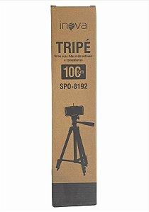 TRIPE SUPORTE TABLET CELULAR CAMERA DIGITAL CAMERA SLR 100CM INOVA SPO-8192