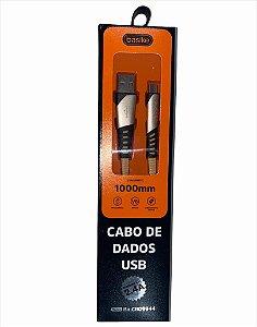 CABO DE DADOS BASIKE 1M 2.4A V8 BA-CBO9944