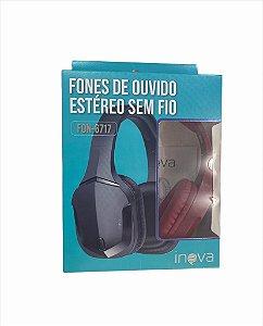 FONE DE OUVIDO BLUETOOTH V5.0  INOVA FON-6717