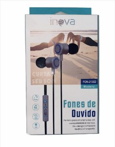 FONE DE OUVIDO INOVA P2 FON-2138D