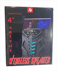 "CAIXA DE SOM WIRELESS SPEAKER 4"" KTS-1223"