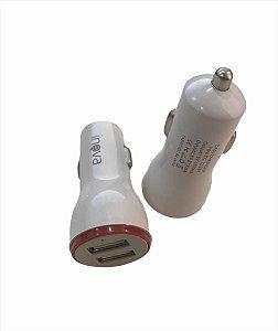 FONTE VEICULAR INOVA 2 USB CAR-G5127