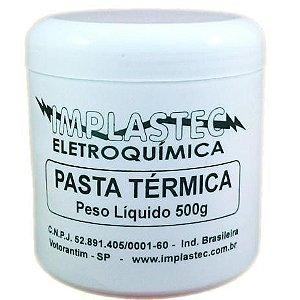 PASTA TERMICA POTE C/500G IMPLASTEC
