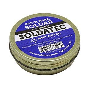 PASTA PARA SOLDAR SOLDATEC 50G IMPLASTEC
