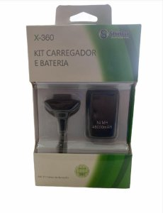 KIT PLAY E CHARGE XBOX 360 SHINKA BT-X3601