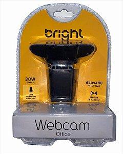 WEBCAM 640x480 COM MICROFONE EMBUTIDO BRIGHT WC574