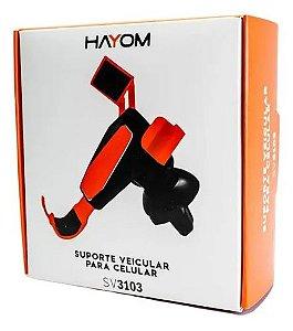 SUPORTE VEICULAR PARA CELULAR HAYOM SV3103