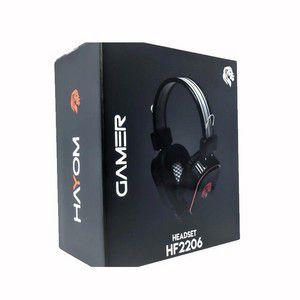 HEADSET GAMER COM MICROFONE 2X P2 + USB -  HAYOM HF2206