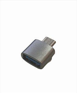 CONECTOR USB FEMEA PARA TYPE-C LELONG LE-5544
