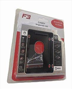 CASE CADDY SEGUNDO HD NOTEBOOK 12,7MM F3 F-CY01