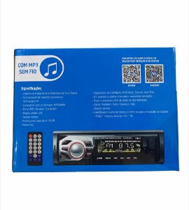 SOM AUTOMOTIVO 25WX4 MP3/BLUETOOTH/FM/USB INOVA PLAYER-5900