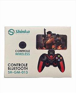 CONTROLE BLUETOOTH ANDROID IOS WIN RECARREGAVEL SHINKA SH-GM-013