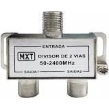 DIVISOR SPLITTER BLINDADO 1X2 50-2400MHZ (ALTA-BAIXA) - EMB.CASA FACIL - (EMBALAGEM COM 01 PCS)