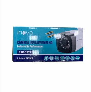 CAMERA INFRAVERMELHO 24 LEDS 2MP INOVA CAM-7374