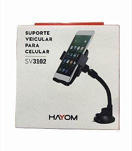 SUPORTE VEICULAR PARA CELULAR HAYOM SV3102