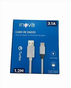 CABO DE DADOS LIGHTNING 3.1A 1.2M INOVA CBO-5965