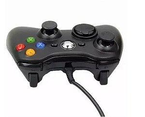 CONTROLE XBOX 360 COM FIO