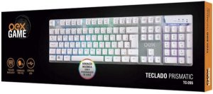 TECLADO USB PRISMATIC SOM AMBIENTE OEX TC205