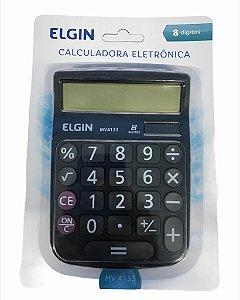 CALCULADORA 8 DIGITOS PRETA ELGIN MV4133