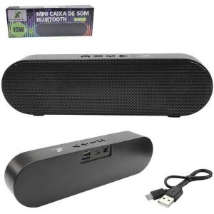 MINI CAIXA DE SOM BLUETOOTH 15W - X-CELL MOD. XC-MS-25