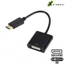 ADAPTADOR DISPLAYPORT X DVI X-CELL XC-ADP-25