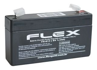 BATERIA SELADA 6V 1.3A FLEX FX-613