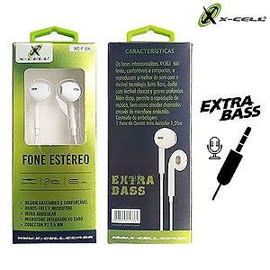FONE DE OUVIDO P/ CELULAR X-CELL XC-F-06