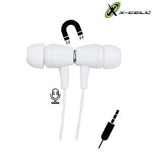 FONE DE OUVIDO P/ CELULAR X-CELL XC-F-05
