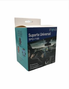SUPORTE VEICULAR UNIVERSAL P/ CELULAR INOVA SPO-7160