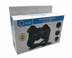 CONTROLE PLAYSTATION 2 DOUBLESHOCK 1,65M LOTUS