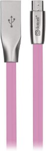 CABO MICRO USB DOTCELL DC-1073 ROSA
