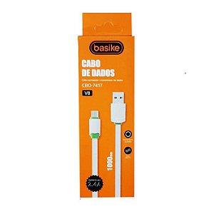 CABO DE DADOS V8 2.4A BASIKE CBO-7417