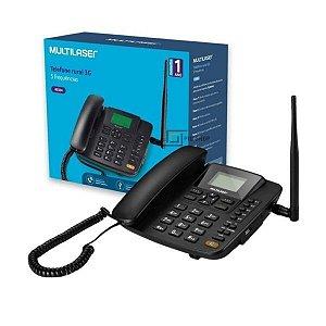 TELEFONE CELULAR RURAL DE MESA QUADRIBAND 2G DUAL SIM MULTILASER RE502