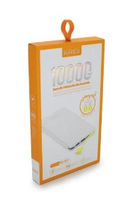 POWER BANK KAIDI 10000mAh C/ ADAP TYPE-C/LIGHTNING KD-951